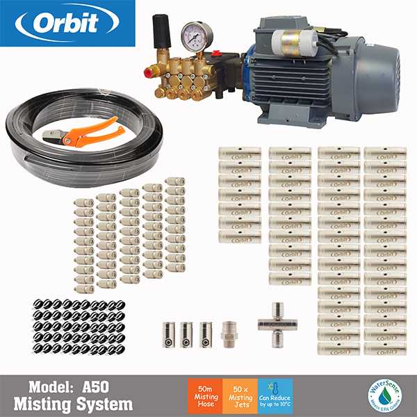 A50 orbit - شیر برقی آبیاری