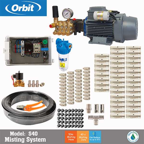 Orbit S40 - شیر برقی آبیاری