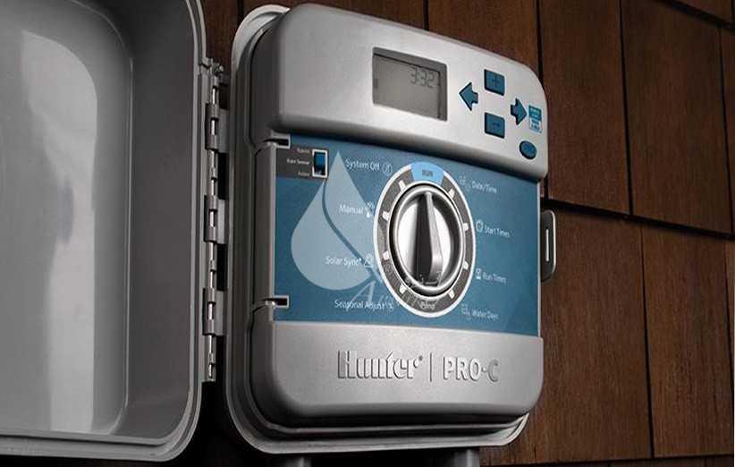 معرفی کنترلر آبیاری هانتر