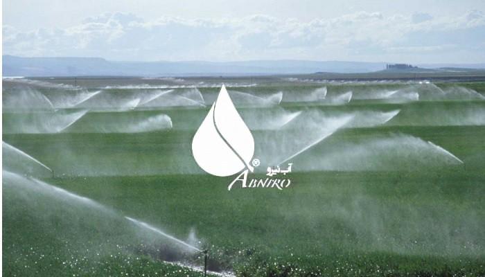 آشنایی با اجزای سیستم آبیاری بارانی