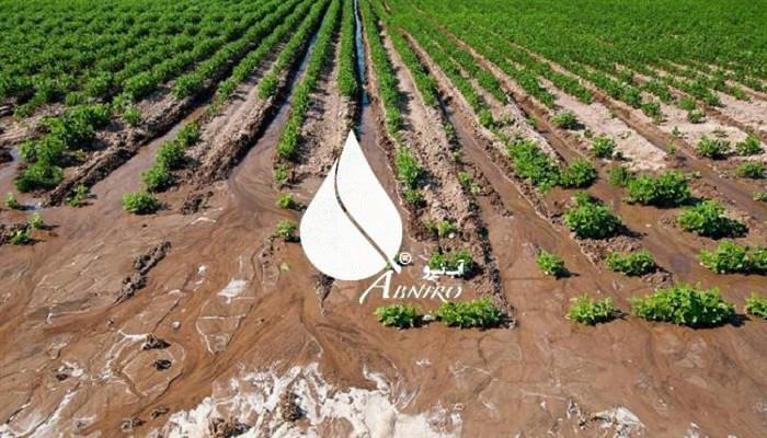 مناسب ترین روش برای آبیاری زمین شور