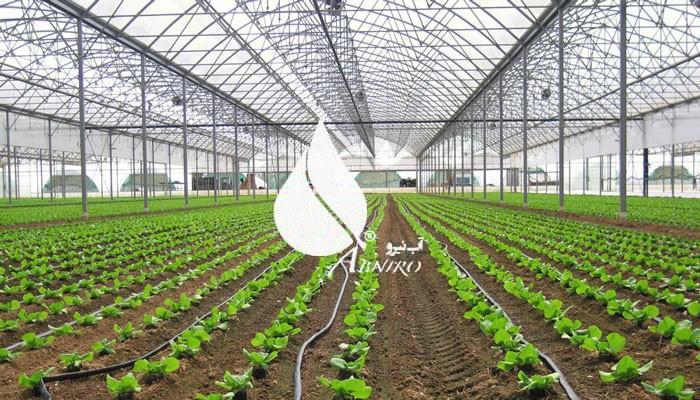 انواع روش های آبیاری گلخانه ای